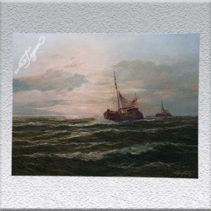 Edgar Freyberg: Krabbenfischer