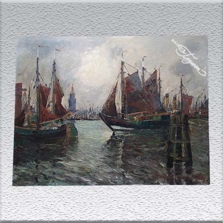 Mindermann: Hamburger Hafen