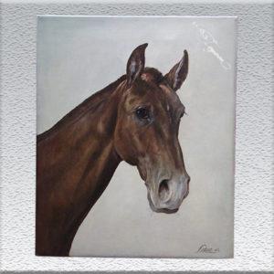 Felix Sobot: Pferdekopf
