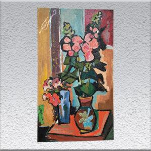 Schroers, expressionistische Blumen